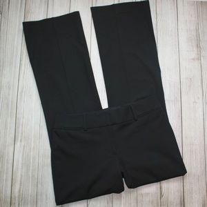 LOFT Size 6 Tall Black Dress Pants JULIE Trouser